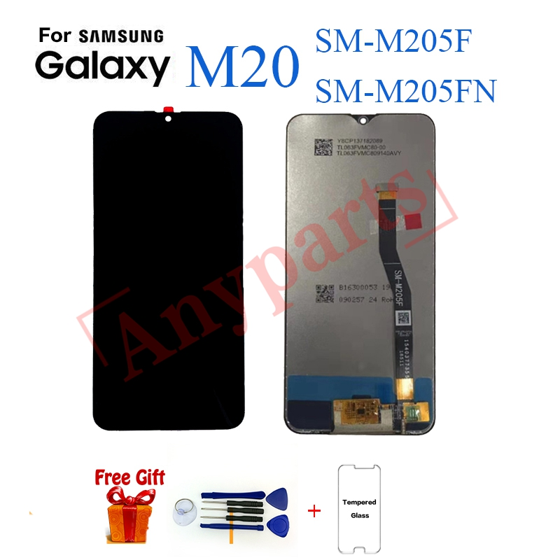 Original For Samsung M20 M205 SM-M205F M205FN Display lcd Screen replacement for Samsung M205F M205FN display lcd screen moduleOriginal For Samsung M20 M205 SM-M205F M205FN Display lcd Screen replacement for Samsung M205F M205FN display lcd screen module