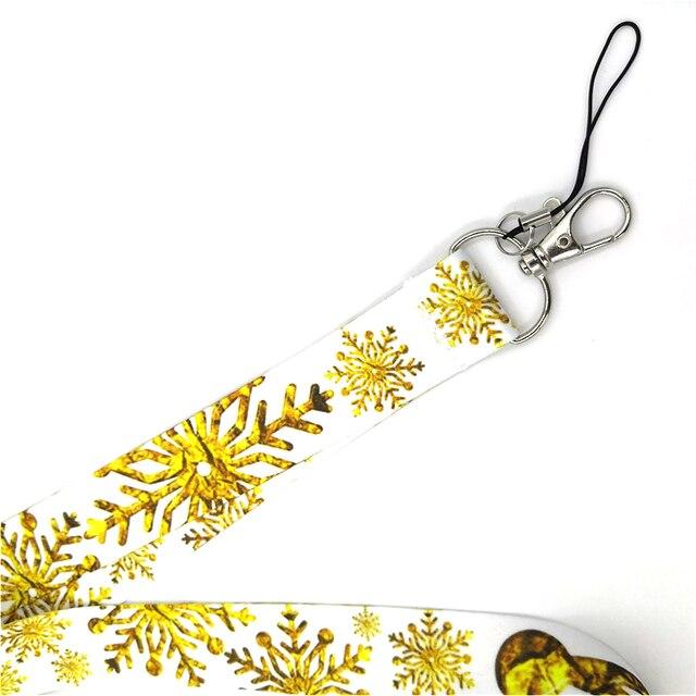 Купить брелок regooly re161 с золотой снежинкой и шеей ожерелье мультипликационным картинки