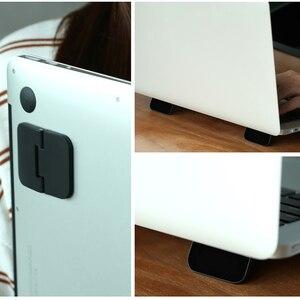 Подставка для ноутбука Кулер Черный охлаждающий кронштейн Подставка-радиатор складной для iPad Macbook подставка для ноутбука планшет крепление рассеивание тепла