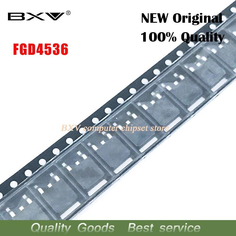 10pcs FGD4536TM TO-252 FGD4536 TO252 New Original Free Shipping