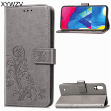 For Samsung Galaxy M20 Cover Leather PU Flip Wallet Phone Case Back Card