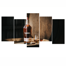 Casks Wine 5 Panel Large HD Printed Canvas Print Painting Home Decoration Wall Pictures for Living Room Wall Art on Canvas Art