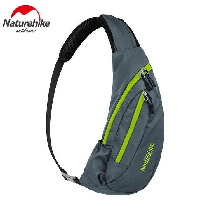 Naturehike Men Women Outdoor Bag Cycling Camping Hiking Climbing Sport Waterproof Nylon Crossbody Shoulder Backpack