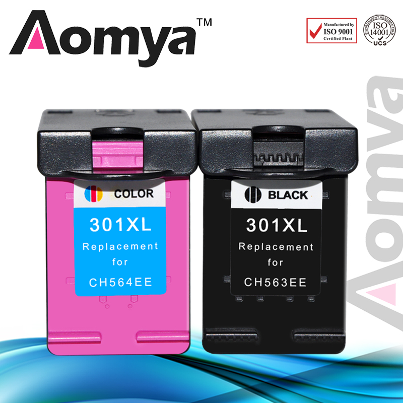 aomya 301xl refill ink cartridges replacement for hp hp. Black Bedroom Furniture Sets. Home Design Ideas