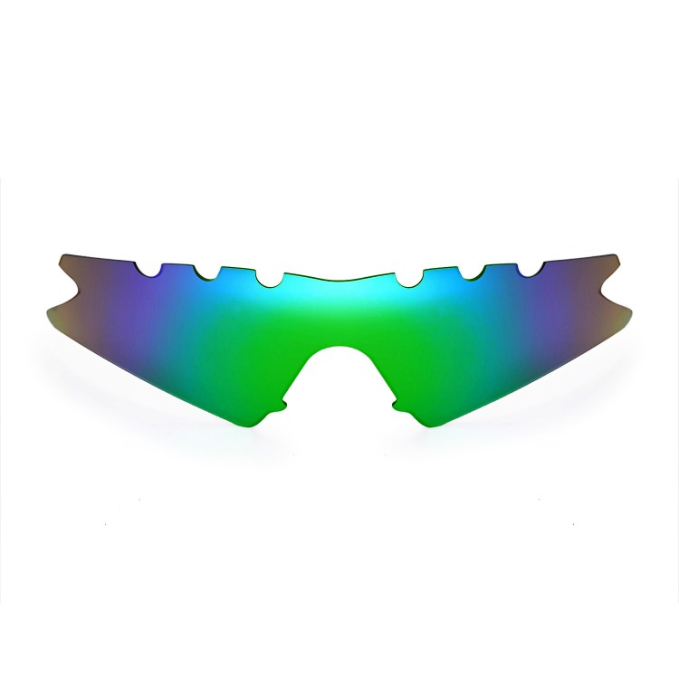 Walleva Polarized Replacement Lenses for Oakley M Frame Sweep Vented ...