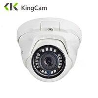 KingCam 2,8 мм объектив широкоугольный металлический POE IP камера 1080 P 960 P 720 P Безопасность Открытый ONVIF Сеть CCTV купольный для наблюдения ipcam
