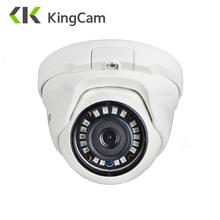 KingCam 2,8mm lente gran angular Metal POE IP Cámara 1080P 960P 720P seguridad al aire libre ONVIF red cctv vigilancia Domo ipcam