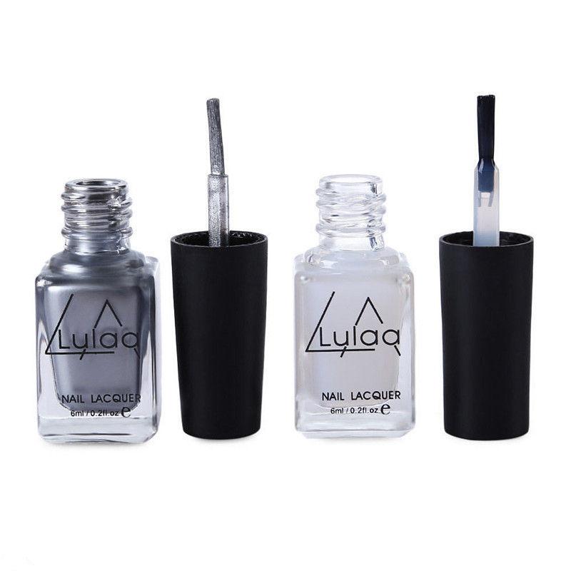 El esmalte de uñas individual No en la tienda 2Pcs Efecto de espejo - Arte de uñas - foto 4