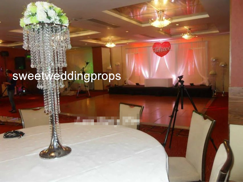 no flowers including customized crystal wedding columnsmandappillars for salewedding decor modern crystal column rom in event party from home garden