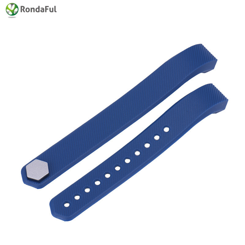 Silicone Replacement Smart Watch Band Accessories Watch Wrist Strap Wristband for Fitbit Alta Small/Large