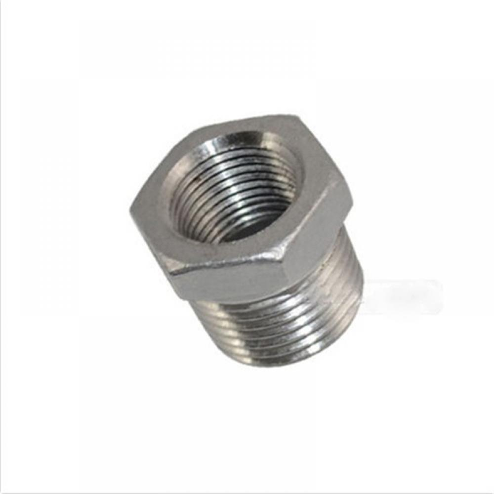 "1//2 /""X1//4/"" Hembra Pezón Con Rosca reductor de instalación de tuberías de acero inoxidable 304 Npt"