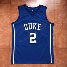 3f36bd91cda  2 Gary Trent JR Duke Blue Devils White College Throwback Basketball Jersey  Stitched(China