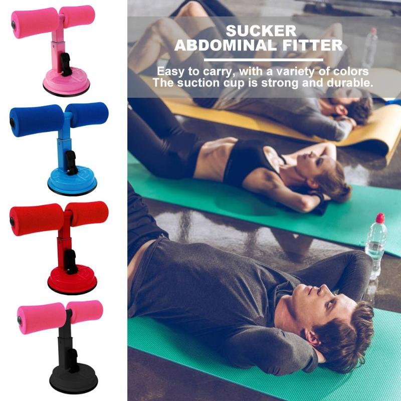 4 Colors Sit-Ups Abdominal Exercise Adjustable Assistant Equipment Suction Cup Home Fitness Workout Healthy Abdomen Lose Weight
