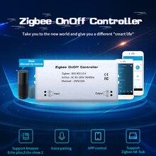 مفتاح تحكم عن بعد ذكي ، مؤقت ، موفر للطاقة ، متوافق مع Smart Things Hub ، Wink Hub ، Zigbee HA Hub