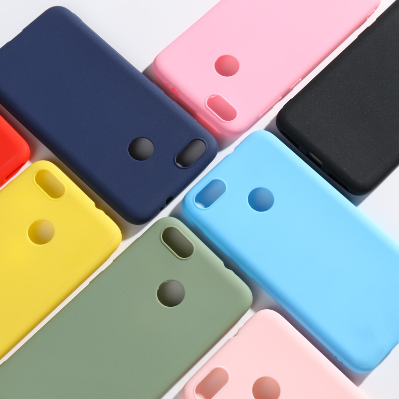 Candy Color Case For Huawei P9 Lite Mini Cases 5.0 Phone Cover Coque SLA-L22 Silicone