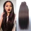 8A #2 Dark Brown Peruvian Virgin Clip In Hair Straight 7PCS 120G/SET Pure Human Hair Hot Selling Clip In remy human Extensions