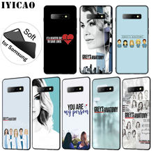 American TV Greys Anatomy Nurse doctor Pattern Soft Phone Case for Samsung Galaxy S20 Ultra S10 Lite S9 S8 Plus S6 S7 Edge S10e(China)