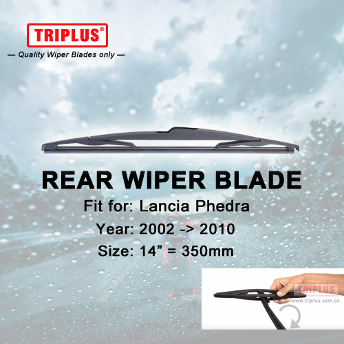 """Rear Wiper Blade for Lancia Phedra (2002-2010) 1pc 14"""" 350mm,Car Rear Windscreen Wipers,for Back Windshield Blades"""