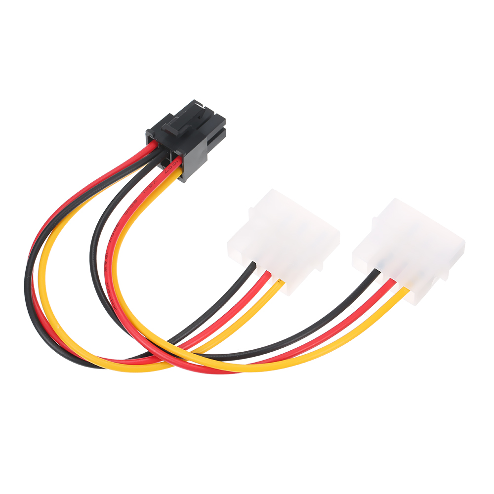 <font><b>4</b></font> p zu <font><b>6</b></font> p Sata Power Kabel Graphics Grafikkarte <font><b>4</b></font> <font><b>Pin</b></font> <font><b>Molex</b></font> zu <font><b>6</b></font> <font><b>Pin</b></font> <font><b>PCI</b></font>-<font><b>Express</b></font> PCIE Power Supply Kabel Werkzeuge image
