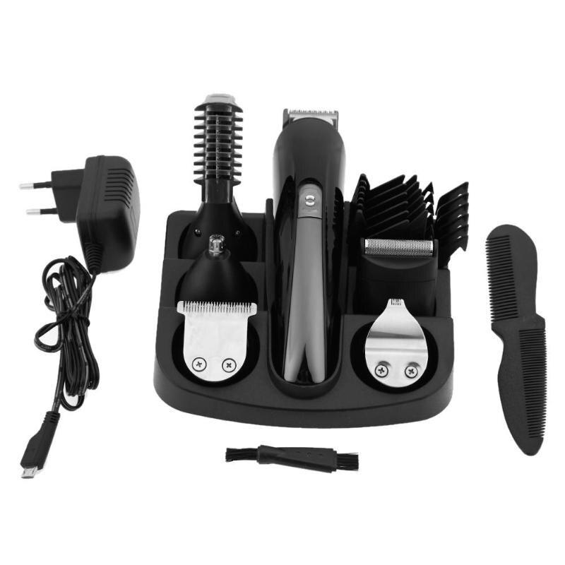KEMEI KM-600 étanche Rechargeable cheveux nez tondeuse électrique hommes rasoir rasoir tondeuse à cheveux de haute qualité