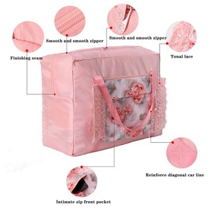 Image 3 - Ldajmw 토트/어깨 여행 쇼핑 큰 가방 접는 옷 보관 주머니 주최자 화장품 보관 가방 여행 수하물 가방
