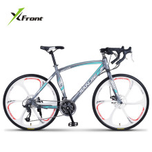 New Brand Road Bike Carbon Steel Frame 24/27/30 Speed Disc Brake Break Wind Cycling Racing Bicycle Outdoor Sport Bicicleta