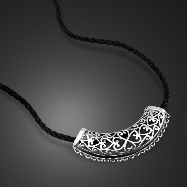 The new thai silver pattern hollow pendant design female models the new thai silver pattern hollow pendant design female models charm necklace fashion chain clasp chain aloadofball Gallery