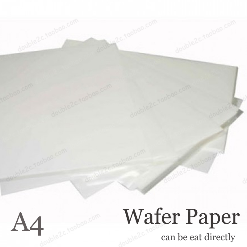 Customized research paper edible wafer