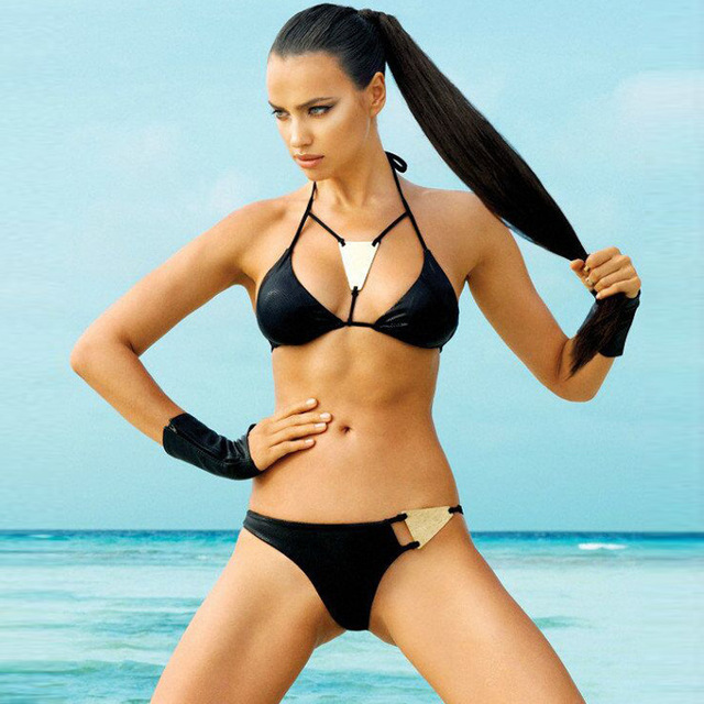 Bikini Girl String Wearing