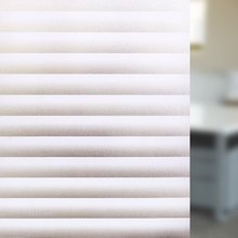 Funlife Blinds Pattern Privacy Static Cling Glass Film No Glue Anti-UV Window Sticker for Bathroom Bedroom Living Room 30x200cm