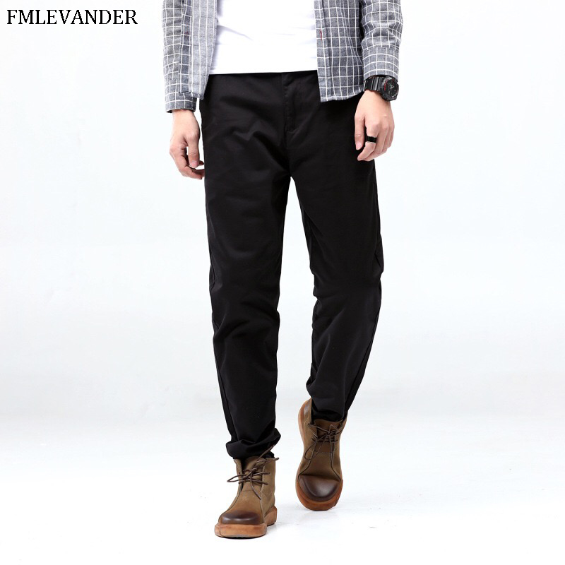High Quality Plus Size 44 46 48 Loose Straight Pants Male Brand Large Harem Pants Men