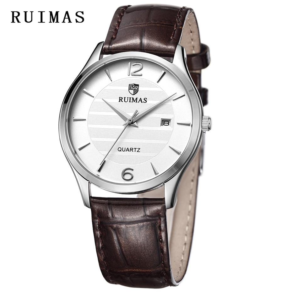 Relogio Masculino RUIMAS 2018 New Wristwatches Men Quartz Watch Top Brand Dress Business Classic Watches Erkek Kol Saati Apr1801