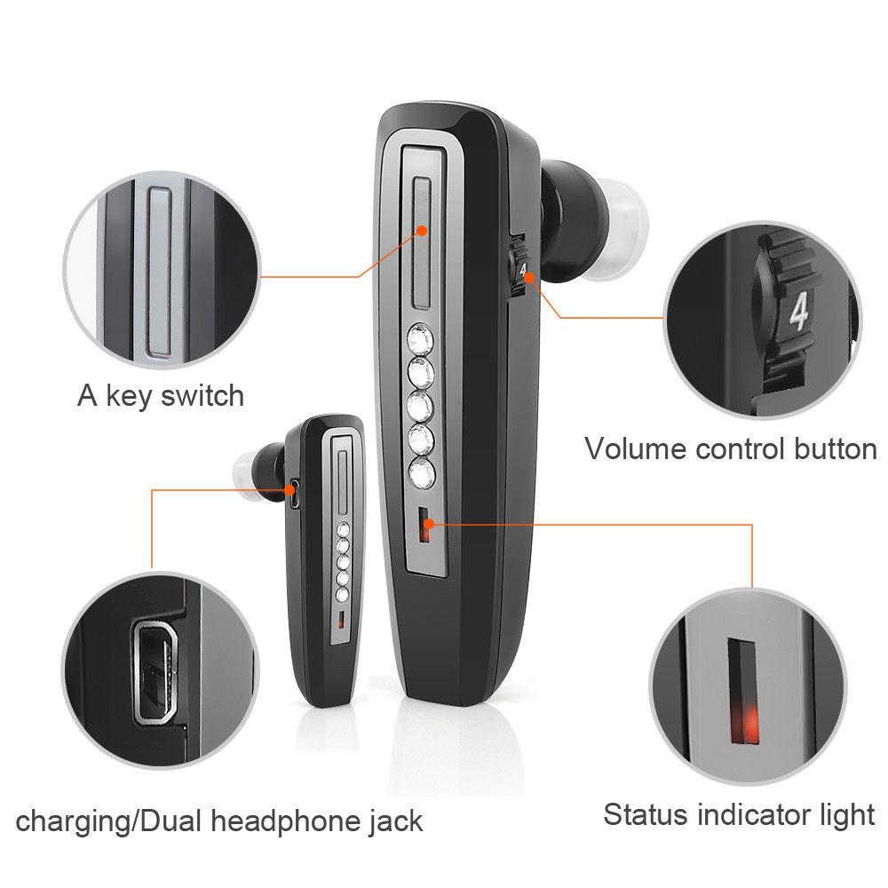 Bluetooth slušni aparati Punjiva slušna pomagala S-101Earphone Gluho pojačalo Slušalica Mikro slušna pomagala za starije osobe