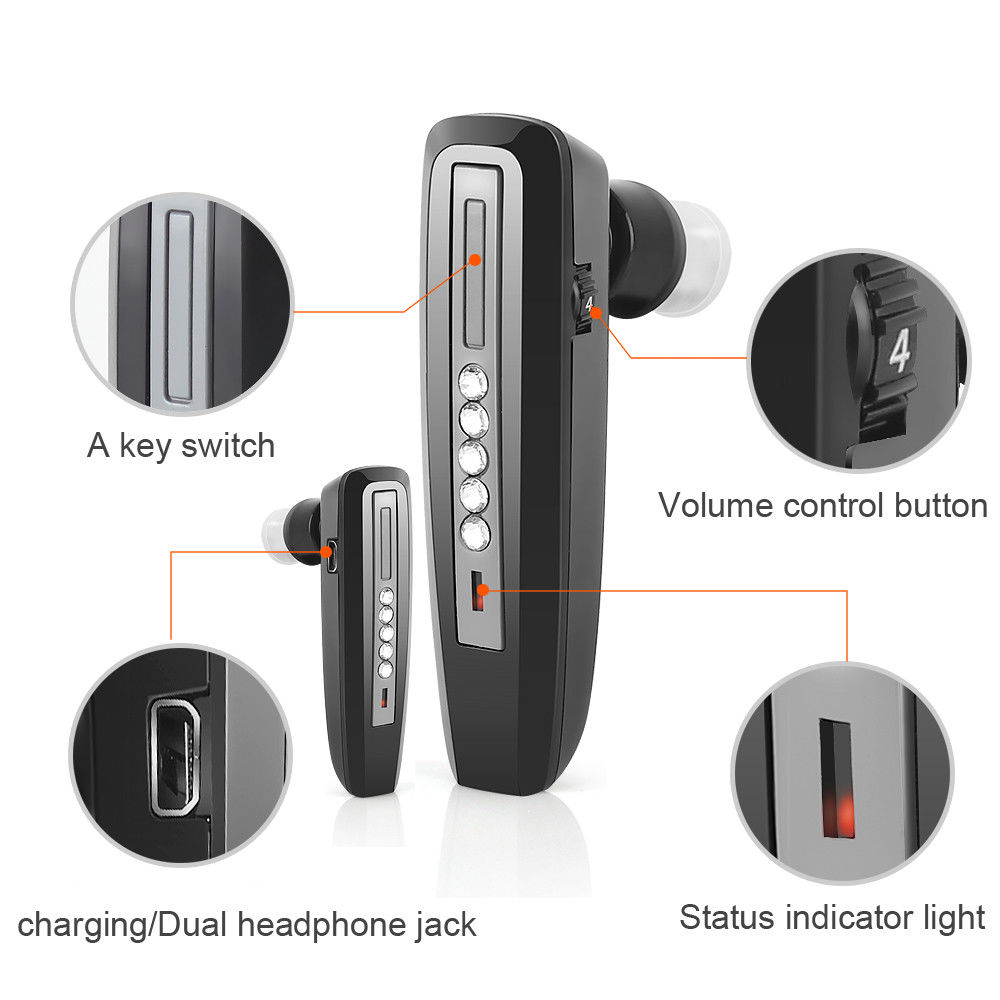 Paypal Accepted Bluetooth Analog Rechargeable Both Ears Hearing Aid S-101 Earphones deaf Amplifiers listening device for elderly guangzhou feie deaf rechargeable hearing aids mini behind the ear hearing aid s 109s free shipping
