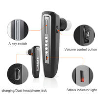 Paypal Accepted Bluetooth Analog Rechargeable Both Ears Hearing Aid S 101 Earphones deaf Amplifiers listening device for elderly