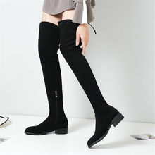 NAYIDUYUN    Thigh High Boots Women Cow Leather Over The Knee High Riding Booties Low Heel Tall Shaft Punk Oxfords Winter Shoes nayiduyun thigh high boots women black leather over the knee booties med heel tall shaft punk sneakers chic riding greepers