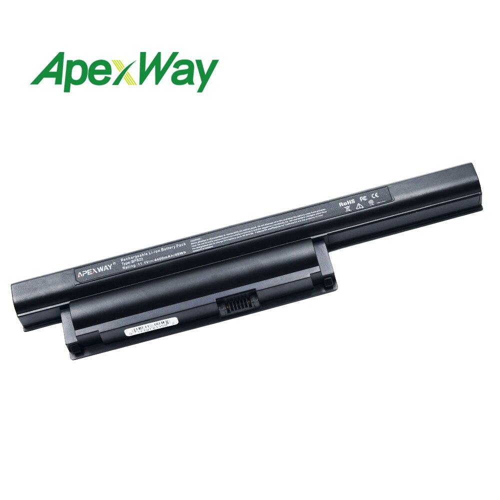 4400 Mah Laptop Batterij Voor Sony Vgp-bps22 Voor Vaio Vpc-e1z1e Vpc-ea1 Vpc-ea16e Vpc-ea16fa/w Vpc-ea1s Vpc-ea1z1e Vpc-ea21fdt 50% Korting