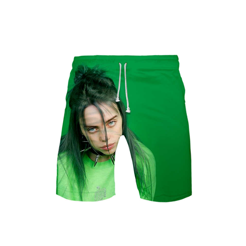 3d Billie Eilish Men Shorts Hot Summer Homme Fashionable Bermuda Shorts Soft Streetwear Clothes Casual Cargo Short Pants Man 6xl Aliexpress