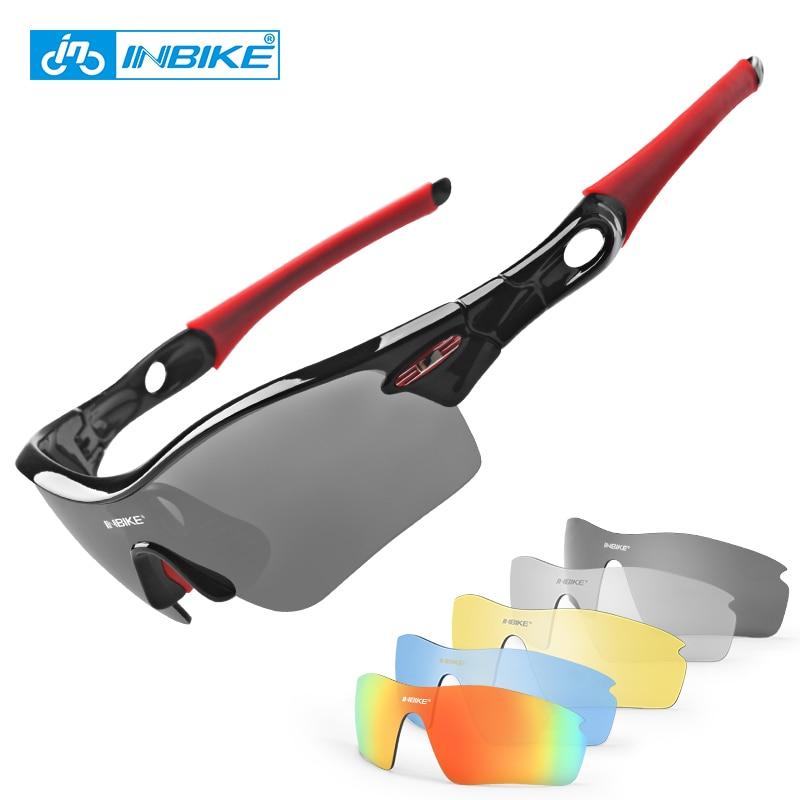 INBIKE Polarisierte Radsportbrille Fahrrad Sonnenbrille Fahrradbrille Eyewear Brillenbrille Brillen UV-Nachweis