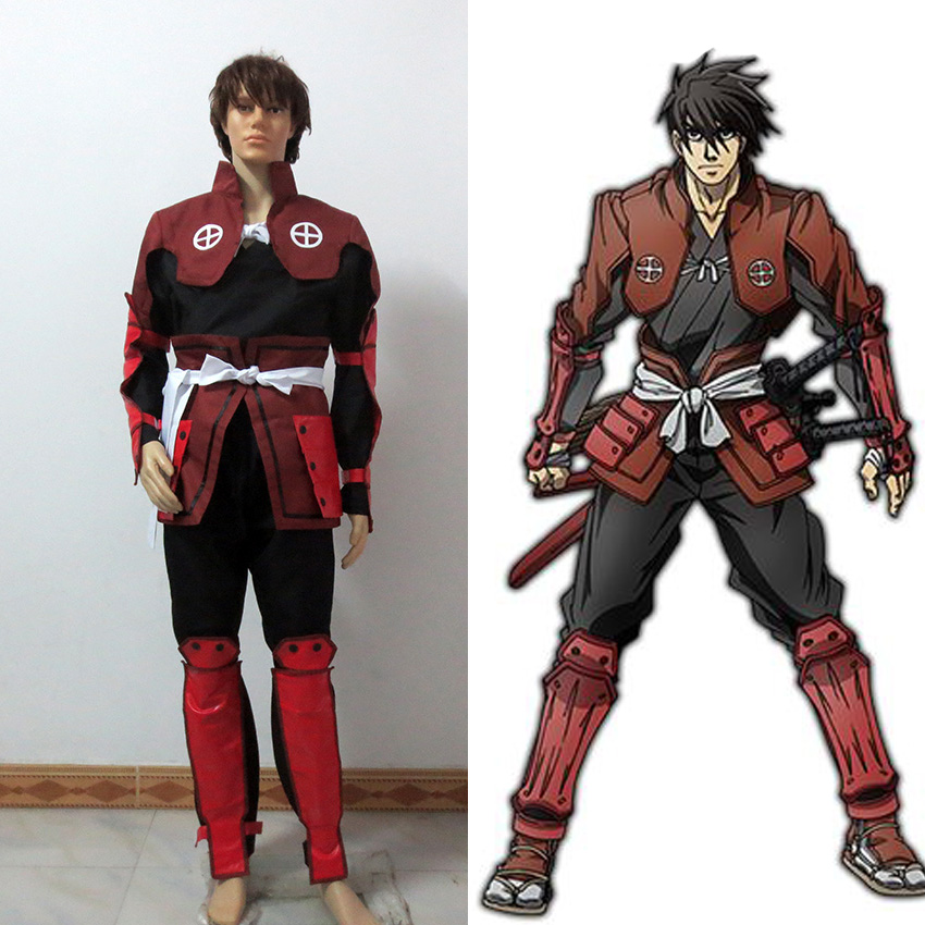 DRIFTERS Cosplay DRIFTERS Shimazu Toyohisa Cosplay Costume Custom Made Free Shipping