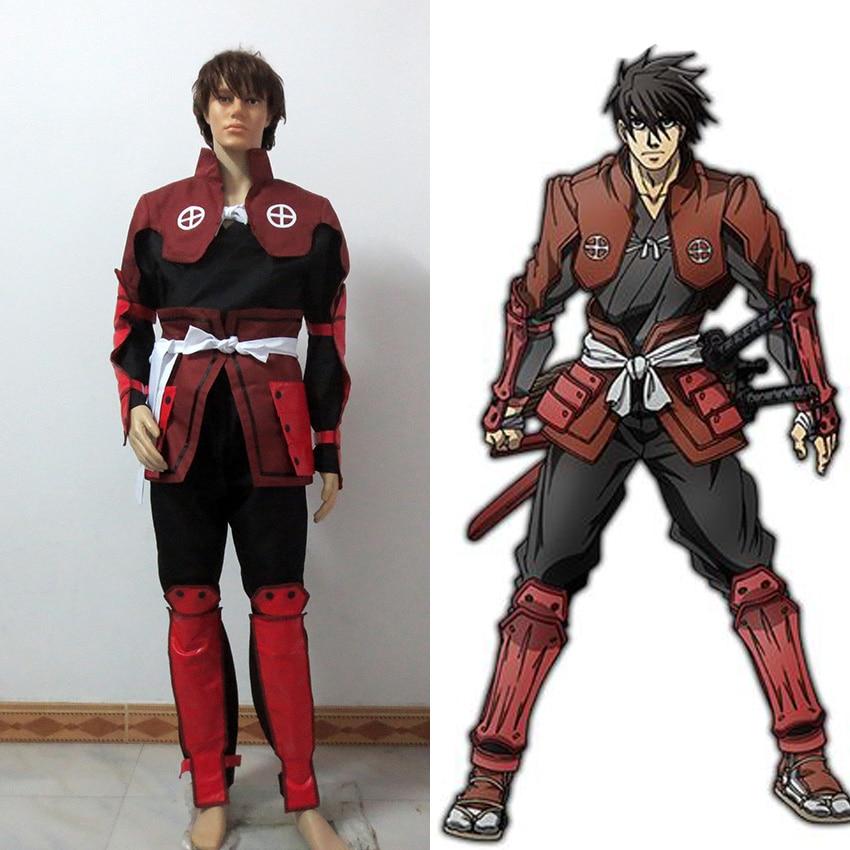 DRIFTERS Cosplay DRIFTERS Shimazu Toyohisa Cosplay Costume Custom Made Free Shipping