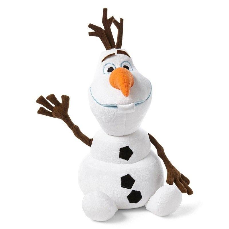 Princess Elsa And Anna Movie Cute Olaf Stuffed Snowman Plush Dolls & Accessories
