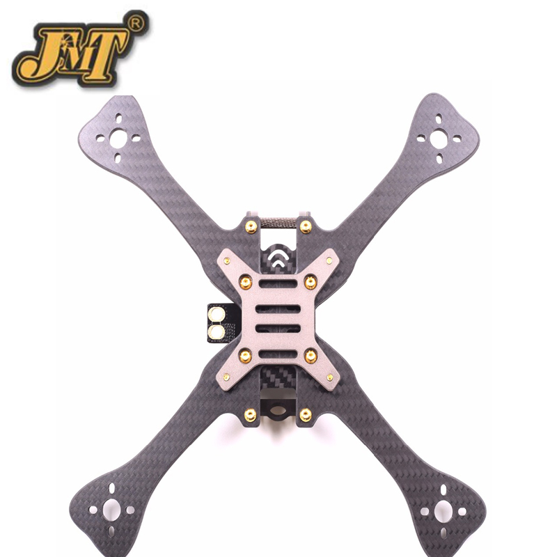 GEP-LX5 7075 Aviation Aluminum Frame Body Shell 4/5/6 Inch Kit  for RC Racer FPV  Drone Quadcopter