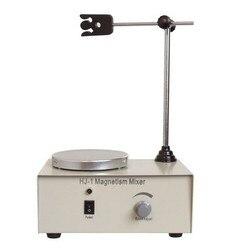 مختبر النمام المغناطيسي لوحة HJ-1 2400 دورة في الدقيقة مع حامل المغناطيسية خلاط ، مختبر النمام خلاط النمام المغناطيسي مع التدفئة بلات
