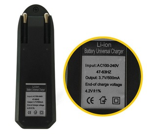 Image 5 - EU Caricabatterie Universale Per 3.7V 18650 26650 16340 14500 Li Ion Ricaricabile Batteria Singolo slot caricatore automatico