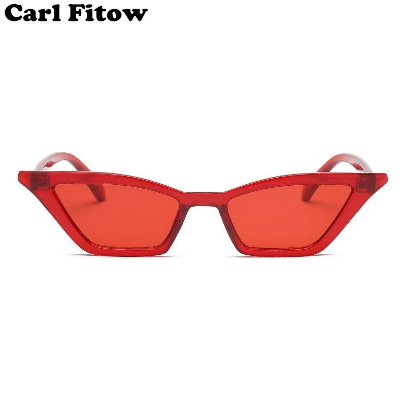 Винтажные Солнцезащитные очки женские кошачий глаз Роскошные брендовые дизайнерские солнцезащитные очки ретро маленькие красные женские солнцезащитные очки черные очки oculos
