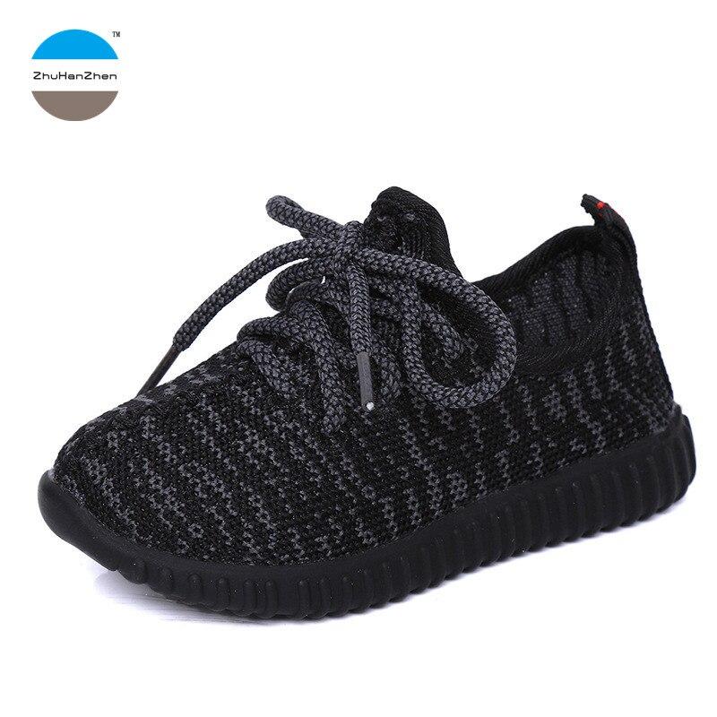 sito affidabile 4d95e 8233d US $8.23 5% di SCONTO|2018 moda Autunno sneaker bimbi 1 12 anni di età del  bambino ragazzo e ragazza scarpe sportive per bambini scarpe casual scarpe  ...