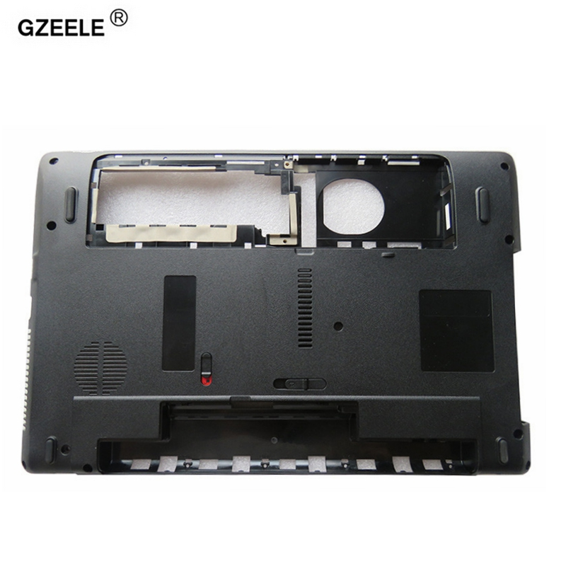 GZEELE NEW Laptop Bottom Case Cover For Acer Aspire 5250 5733 P/N: AP0FO000N00 D Shell Without HDMI MainBoard Bottom Casing Case