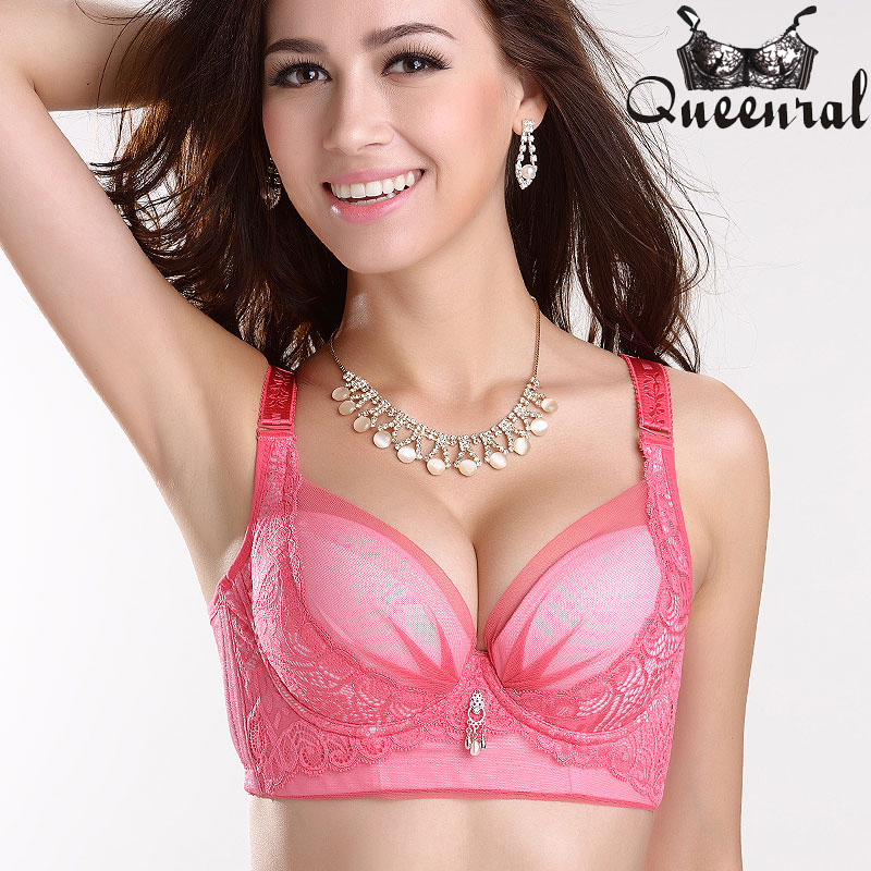 b3e179c2f 2017 Women s Bras Plus Size no rim Bra Push up Lace Bralette Uplift bras  for Women Cropped Top woman Underwear-in Bras from Underwear   Sleepwears  on ...