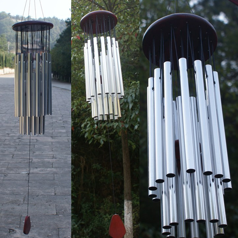 Wind Chimes Bells Copper 27 Tubes Hanging Ornament Garden Home Mobiles Windchime